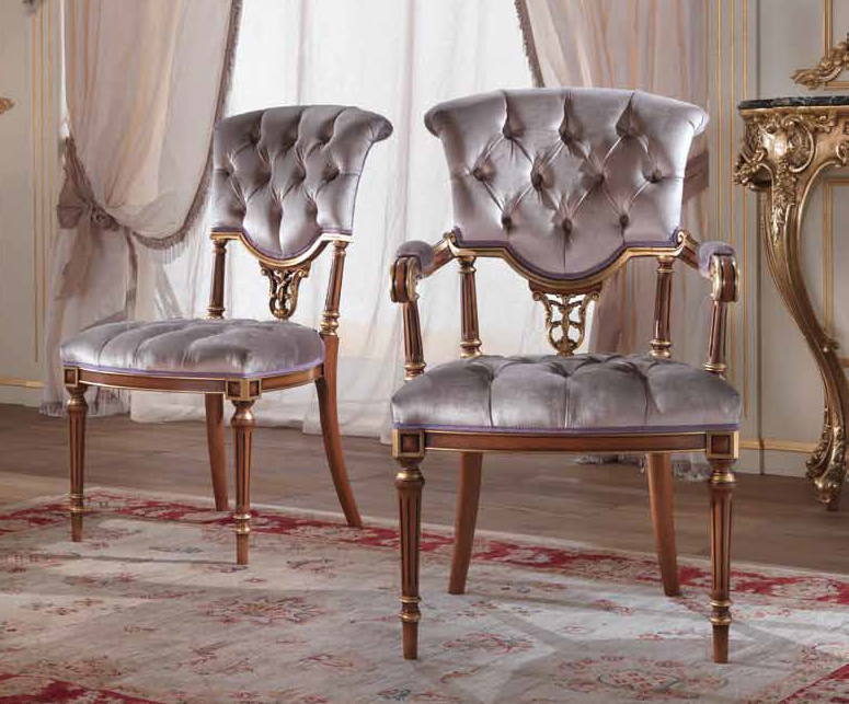 Dining Chairs Open Back Upholstered Dining Chair