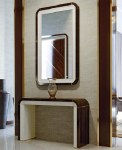 DECO II COLLECTION CONSOLE AND MIRROR